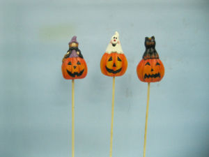 Halloween Pumpkin Ceramic Arts and Crafts (LOE2382-A6.5p)