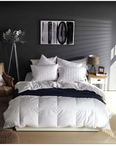 300 Tc White Goose Down Quilt Comforter Duvet Exporting to EU pictures & photos