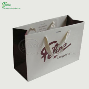 2017 Welcomed Cosmetic Gift Paper Shopping Bag (KG-PB027) pictures & photos