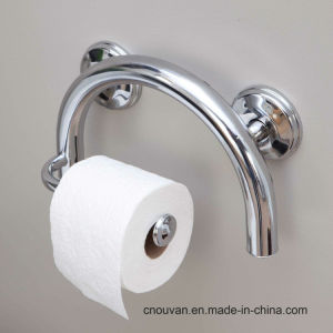 Grab Bar Toilet Paper Holder with Grips and Anchor pictures & photos