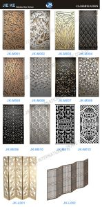 Factory Supply Hot Sell Laser Cut Metal Partition Decorative Wall pictures & photos