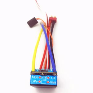 Brushed 160A ESC 3s with 5V 1A Bec for 1/12 RC Car pictures & photos
