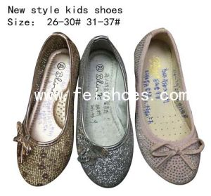 New Style Fashion Kids Dance Shoes Ballet Flats Girls (mm171-2) pictures & photos