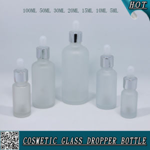 Frosted Glass E Liquid Dropper Bottle with Childproof Cap pictures & photos