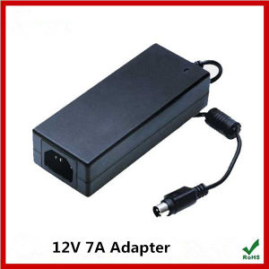 Top Quality 12V 7A Adapter with Ce RoHS Approved pictures & photos
