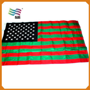 Promotion Polyester 3X5 Feet Embroidered Country National Flag pictures & photos
