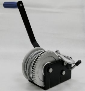 3 Speed 1000kg Hand Winch with Cable Powder Coating pictures & photos