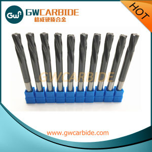 Tungsten Carbide Straight Shank Spiral Flutes Machine Reamer pictures & photos