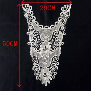 Flower Embroidery Crochet Collar pictures & photos