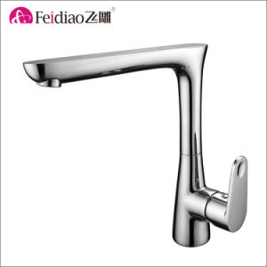 China Factory Hot Sale High Quality Single Handle Kitchen Sink Tap pictures & photos