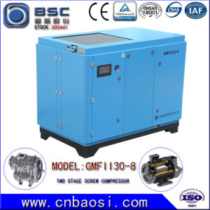 Two Stage Energy Saving Screw Air Compressor 30~37kw pictures & photos
