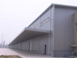 Galvanized Prefab Steel Structure Frame Warehouse pictures & photos