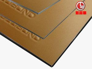 Flourocarbon Coated Aluminium Composite Panel (PF-422 Silver Metallic) pictures & photos