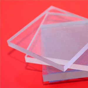 UV Coated Clear Lowes Polycarbonate Solid Panels pictures & photos