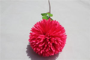 Cheap Artificial Flower Real Touch Silk Hydrangea pictures & photos