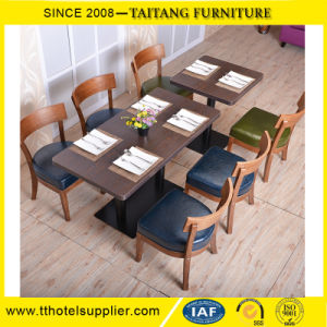 Foshan Furniture Dining Table Set 6 Chairs pictures & photos