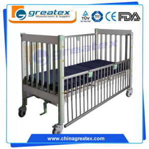 Height Adjustable Children Hospital Bed for Clinic, ICU Room, General Ward (GT-BB102) pictures & photos