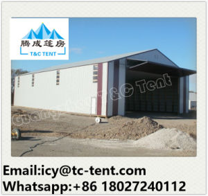 40X50m Temporary Large Industrial Tent / Warehouse Tent Storage Tent Shoulder Tent pictures & photos