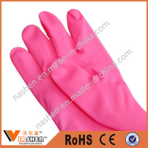 Kitchen Extra Long Rubber Gloves pictures & photos