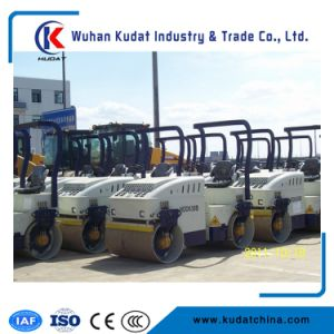 Full Hydraulic Double Drum Road Roller with Pad Foot Optional pictures & photos