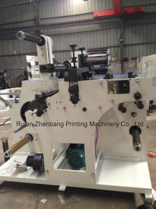 Rotary Die-Cutting and Slitting Machine with Two Rewinding Shafts pictures & photos