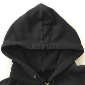 Zip up Pocket Coat in Man Hoodie pictures & photos