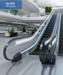 Vvvf Safety Xizi Escalator Handrail pictures & photos