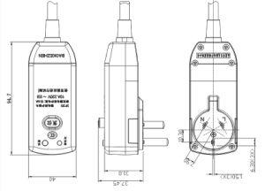 Sp351-2 GFCI Plug pictures & photos