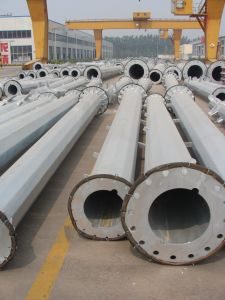 132kvsteel Tube Poles pictures & photos