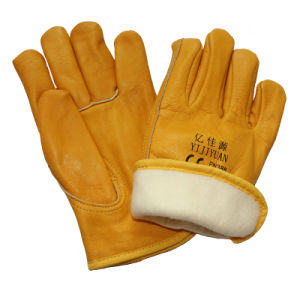 Thinsulate Full Lining Winter Warm Driving Drivers Gloves pictures & photos