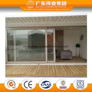 135 Series Heat Insulation Aluminium Sliding Door in Large Sash pictures & photos
