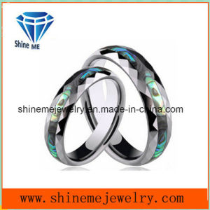 Shineme Jewelry High Quality Shell Tungsten Ring Jewellry pictures & photos