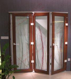 Soundproof UPVC Bifolding Door/Accordion Door (BHP-AD01) pictures & photos