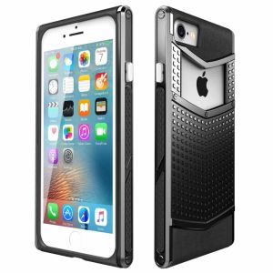 Anti Slip Dual Layer V Shaped Armor Shockproof Phone Case for iPhone7 pictures & photos