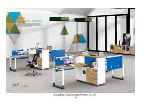 High Quality Office Table Computer Desk for Staff (H90-0211) pictures & photos