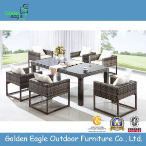 Royal Garden Patio Outdoor Rattan Dining Table Set