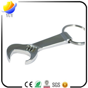 Spanner Shape Blank Metal Bottle Opener Key Chain pictures & photos