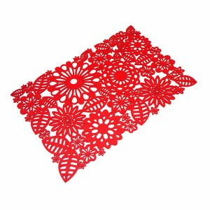 3mm & 5mm Spring Season 100% Polyester Placemat for Tabletop and Holiday Decorations pictures & photos