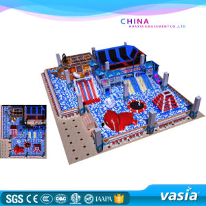 Professional Manufacturer Kids Trampoline Park Indoor Playground for Sale pictures & photos