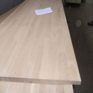 Oak Finger Joint Panel for Worktops/Countertops/Tabletops pictures & photos