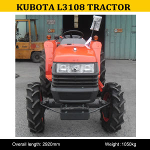 Kubota Agricultural Tractors, L3108 Kubota Small Tractor for Sale, Kubota Tractors Model L3108 pictures & photos