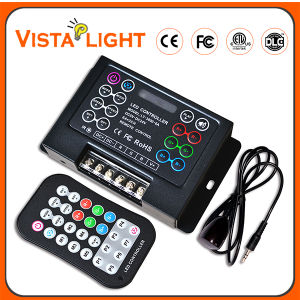 Universal Plastic RF Remote Control LED RGB Controller pictures & photos