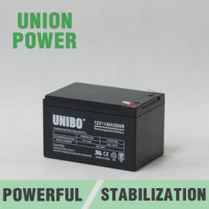 Solar Battery 12V14ah High Quality Solor System AGM Lead Acid Battery pictures & photos