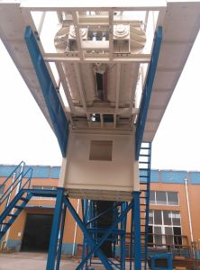 Yhzs50 Mobile Concrete Batching Plant Price with Low Cost pictures & photos