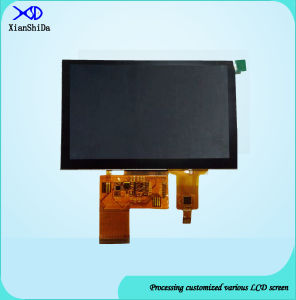 HD 5 Inch TFT LCD Screen with Capacitive Touch Panel pictures & photos