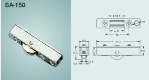 Copper Roller for Sliding Window and Door/ Hardware (SA-150) pictures & photos