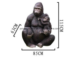 Garden Decoration King Kong Life Size Monkey Model pictures & photos