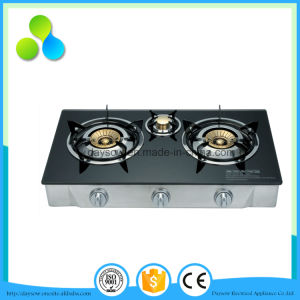 Low Price Pakistan 3 Burner Gas Stove pictures & photos