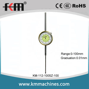 Wide Range 0-100mm Mechanical Dial Indicator with 0.01mm Graduation pictures & photos