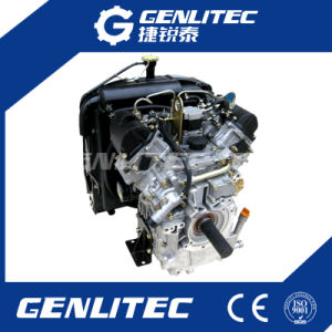 19HP Water Cooled Double Cylinder Direct Injection Diesel Engine pictures & photos